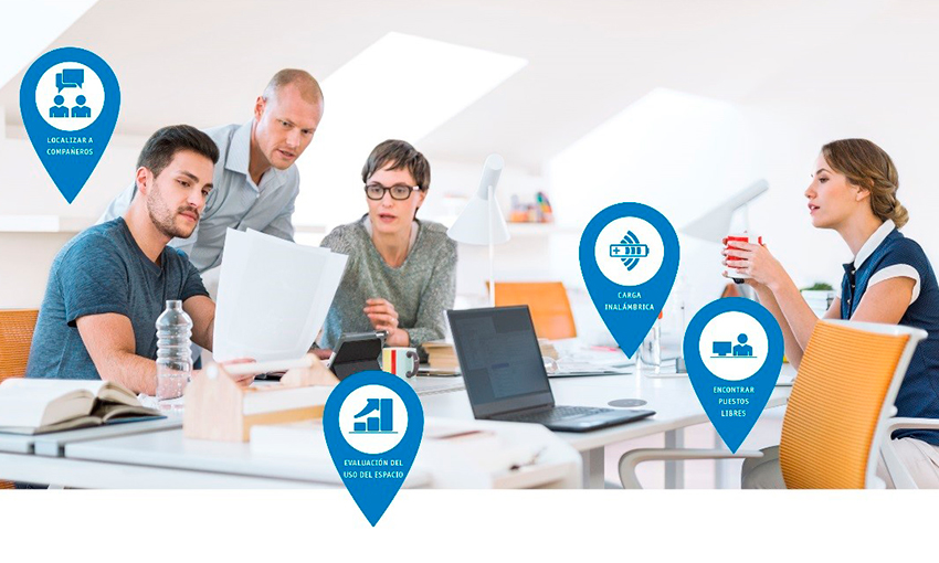 oficinas con tecnología integrada
